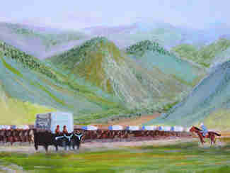 Scythian Wagon Train